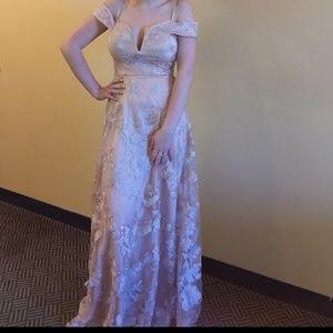 Blush Pink Prom Dress